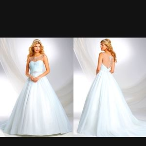 Alfred Angelo Disney Princess Wedding Dress